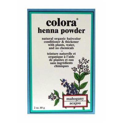 Colora Henna Powder - Mahogany 60 g