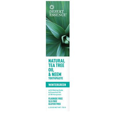 Desert Essence Natural Tea Tree Oil & Neem Toothpaste176g