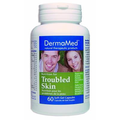DermaMed Nutrition for Troubled Skin 60 Softgels