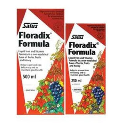 Flora Salus Floradix Formula Liquid Iron and Vitamins 500 ml + 250 ml*