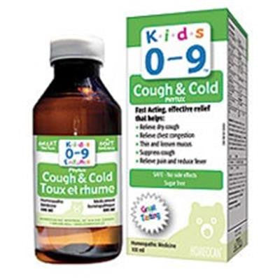 Homeocan Kids 0-9 Cough & Cold 250ml