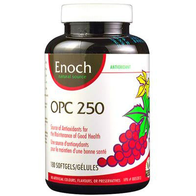 Enoch OPC 250 180 Softgels<br>Clearance Sale • Expires 06/2019