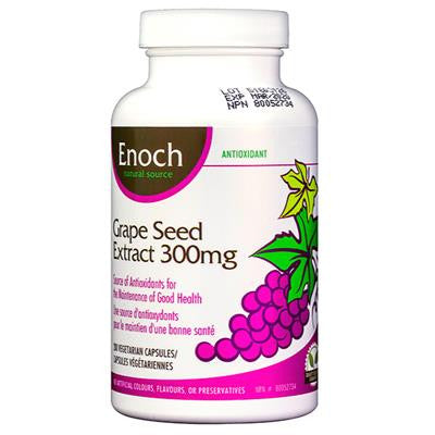 Enoch Grape Seed Extract 300mg 200 VCapsules