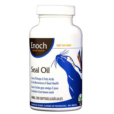 Enoch Pure Harp Seal Oil 500mg 250 Softgels