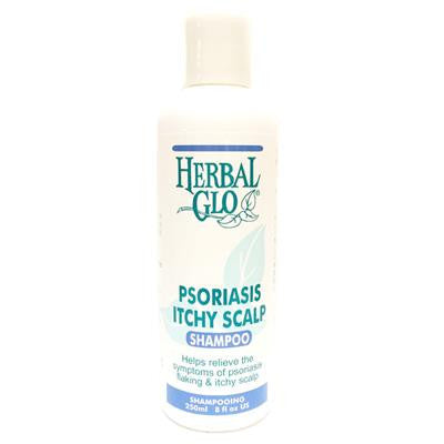 Herbal Glo Psoriasis Itchy Shampoo 250ml