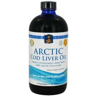 Nordic Naturals Arctic Cod Liver Oil™ Orange Flavour 473 ml