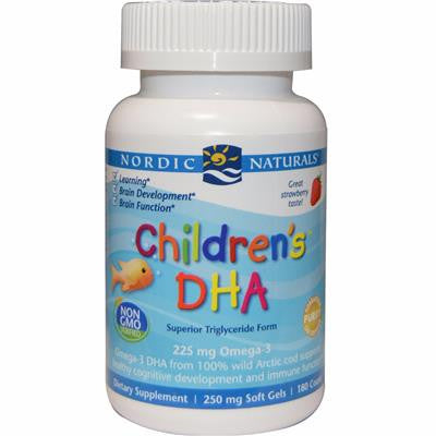 CLEARANCE- Nordic Naturals Children's DHA™ 180 Softgels
