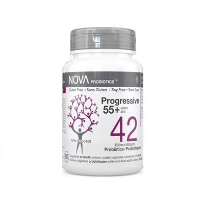 NOVA Probiotics Pro 55+yrs 42 Billion 60 VCapsules