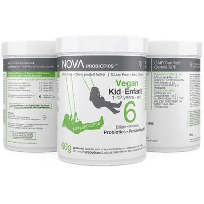 Nova Vegan Kid Probiotic 6 Billion 1-12yrs 60g