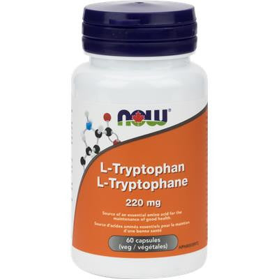 Now Foods L-Tryptophan 220mg 60 capsules
