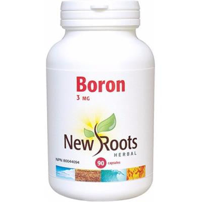 New Roots Boron 3 mg 90 Capsules