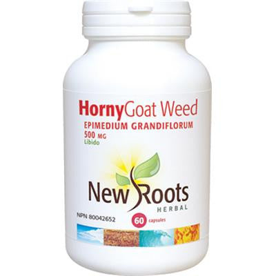 New Roots Horny Goat Weed 500 mg 60 VCapsules