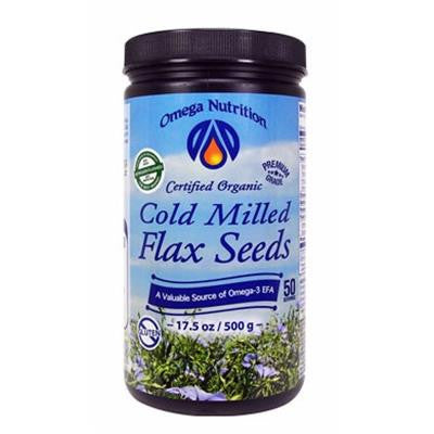 Omega Nutrition Cold Milled Flax Organic 500 g