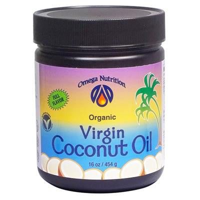 Omega Nutrition Organic Virgin Coconut Oil 16 oz