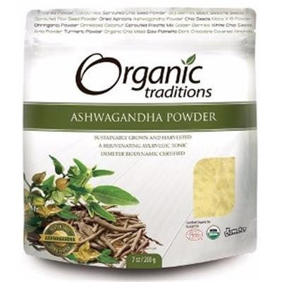 Organic Traditions® Ashwagandha Root Powder - 7 Oz (200g)