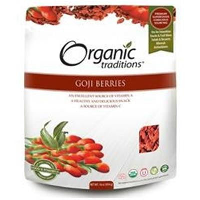 Organic Traditions Goji Berry 454g