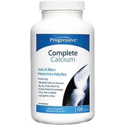 Progressive Complete Calcium For Adult Men 120 Caplets