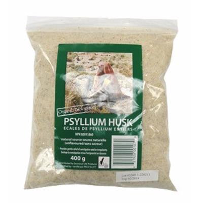 Source of Life Certified Organic Psyllium Husk Whole 400g