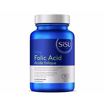 Sisu Folic Acid 1mg 90 Capsules
