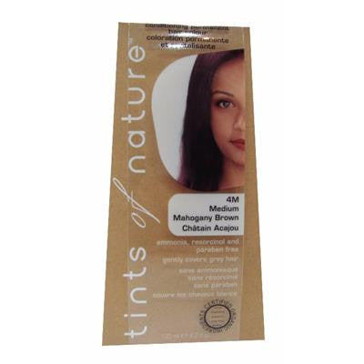 Tints of Nature (4M Mahogany Brown) Organic Hair Coloring