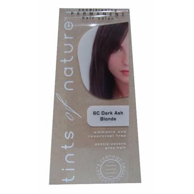 Tints of Nature (6C Dark Ash Blonde) Organic Hair Coloring