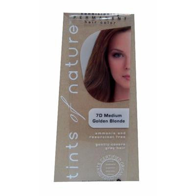 Tints of Nature (7D Golden Blonde) Organic Hair Coloring