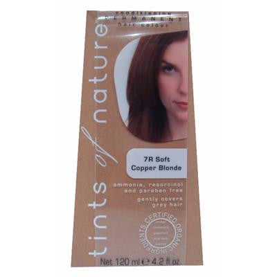 Tints of Nature (7R Copper Blonde) Organic Hair Coloring
