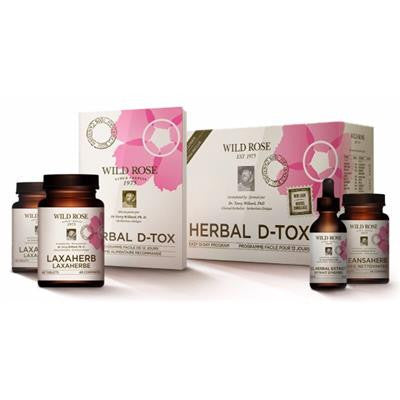Wild Rose Herbal D-Tox 12 Day Program