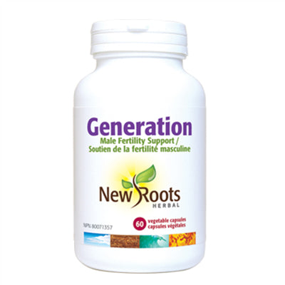 New Roots Generation Male Fertility 60 VCapsules