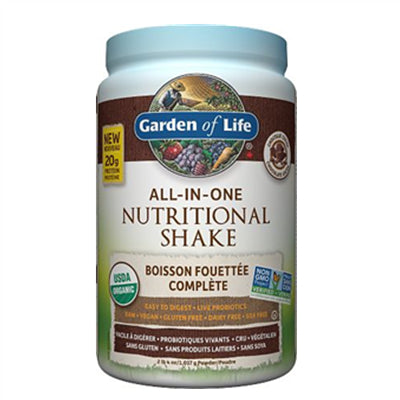 Garden of Life All in One Nutritional Shake Chocolate 1017g