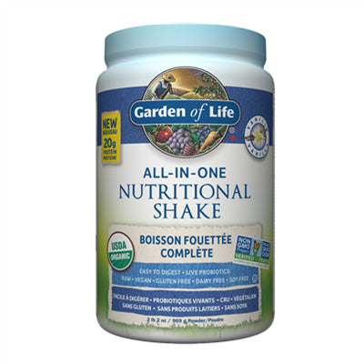 Garden of Life All in One Nutritional Shake Vanilla 969g