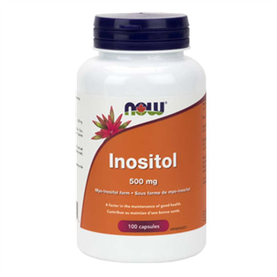 Now Inositol 500 mg 100 Capsules