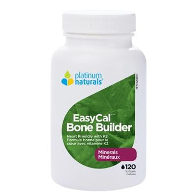Platinum EasyCal Bone Builder 120 Softgels