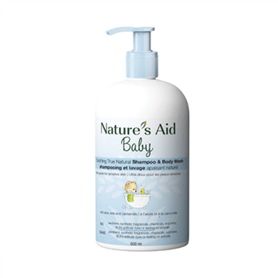 Nature's Aid Sensitive True Natural Baby Wash 500ml