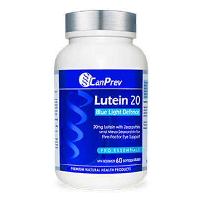 CanPrev Lutein20  60Softgels