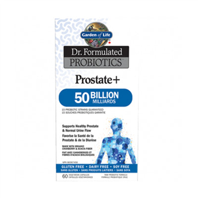 Garden of Life Dr. Formulated Probiotics Prostate + 50 Billion SS 60 VCapsules