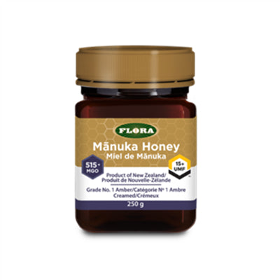 Flora New Zealand Manuka Honey 515+ 250g