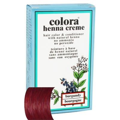 Colora Henna Burgundy Cream 60ml
