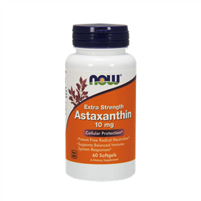 Now Astaxanthin 10 mg 60 Softgels