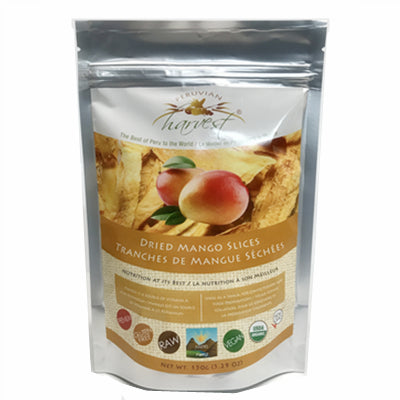 Uhtco Peruvian Dried Mango Slices 150g
