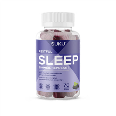 Suku No Sugar Restful Sleep 70 Gummies
