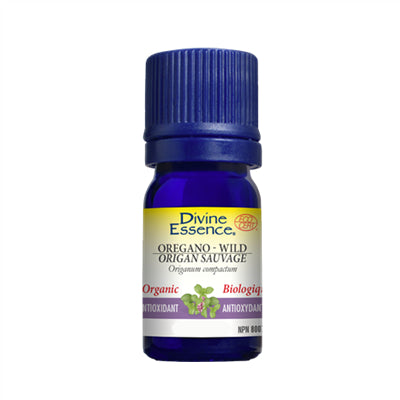 Divine Essence Oregano Wild Organic 15 ml