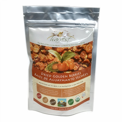 Uhtco Peruvian Dried Golden Berries 250 g
