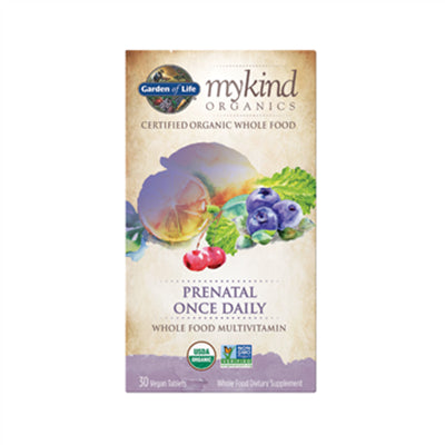 Garden of Life MyKind Organics Prenatal Once Daily 30 Vegan Tablets