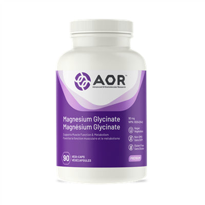 AOR Magnesium Glycinate 90mg 90 VCapsules