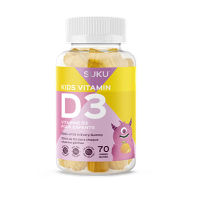 Suku No Sugar Vitamin D3 70 Gummies