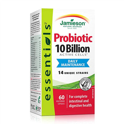 Jamieson Probiotic 10 Billion 60 Vcaps