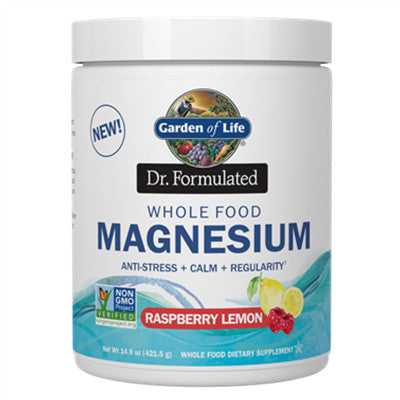 Dr. Formulated Whole Food Magnesium Raspberry Lemon 421.5g