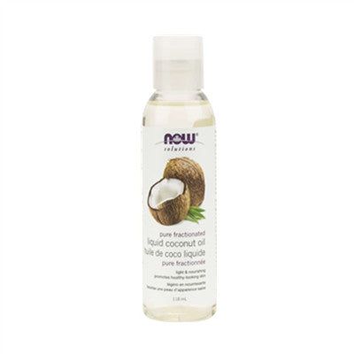 Now Fractionated Liquid Coconut Oil 118ml