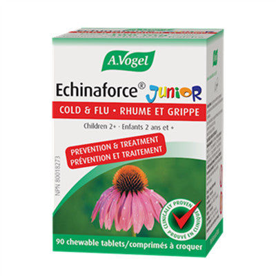A.Vogel Echinaforce Junior 90 Chew Tabs